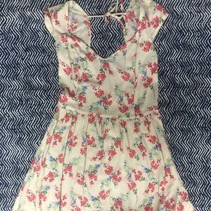 Hollister shirt with flowers print